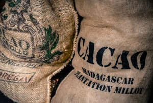 fair trade Madagascan cacao bag