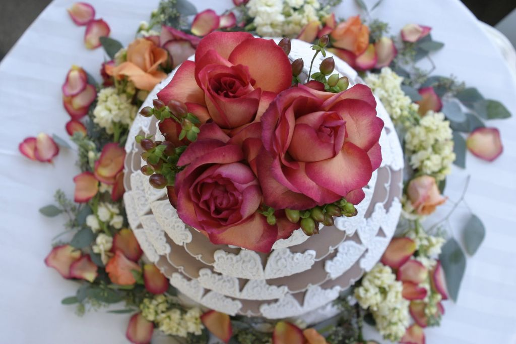 Wedding Cake - Eco Hack Wedding